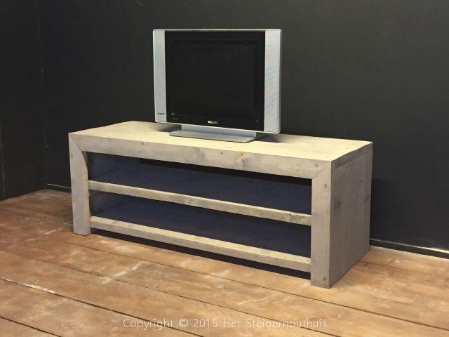 Steigerhout Tv Kast : Tv meubelen het steigerhouthuis
